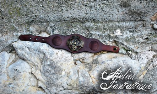bracelet-celtique-cuir