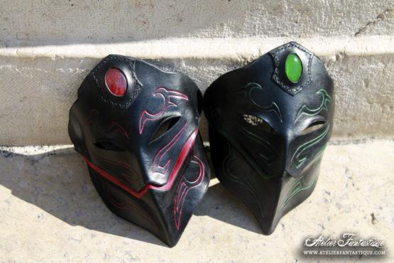 masques-en-cuir