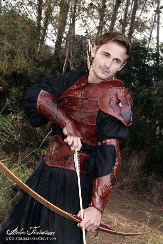 armure-cuir-archer