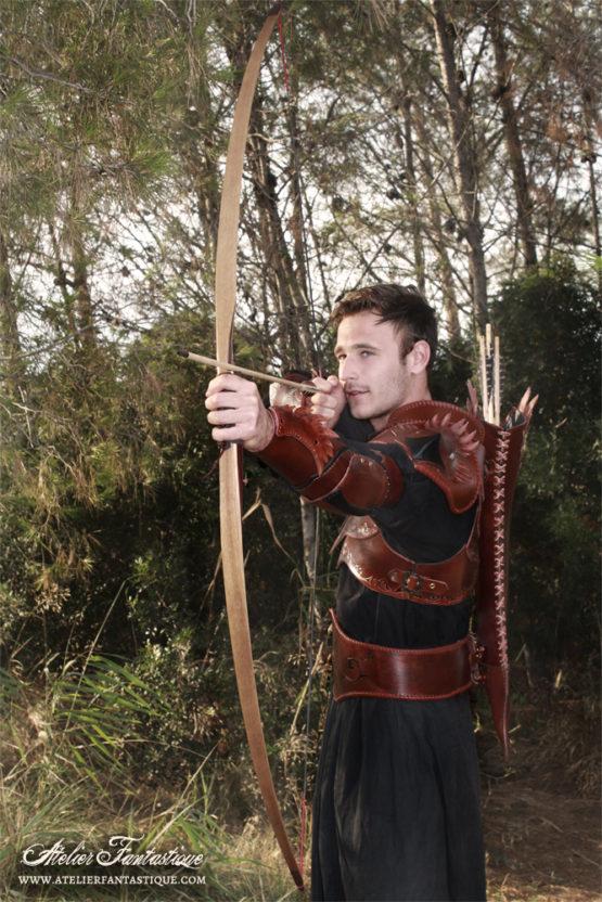 armure-en-cuir-archer