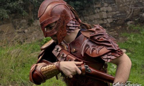 casque-viking-cuir