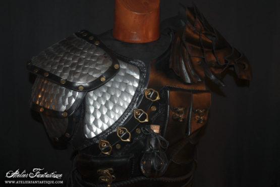 armure-cuir-ecailles