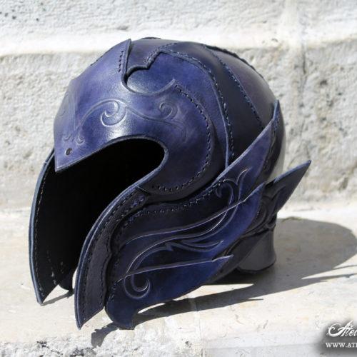 casque-elfique-en-cuir