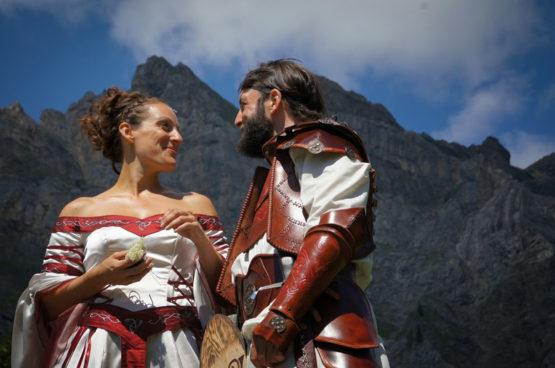 mariage-medieval-armure