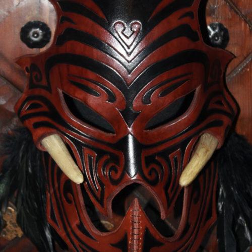 masque-en-cuir-vaudou