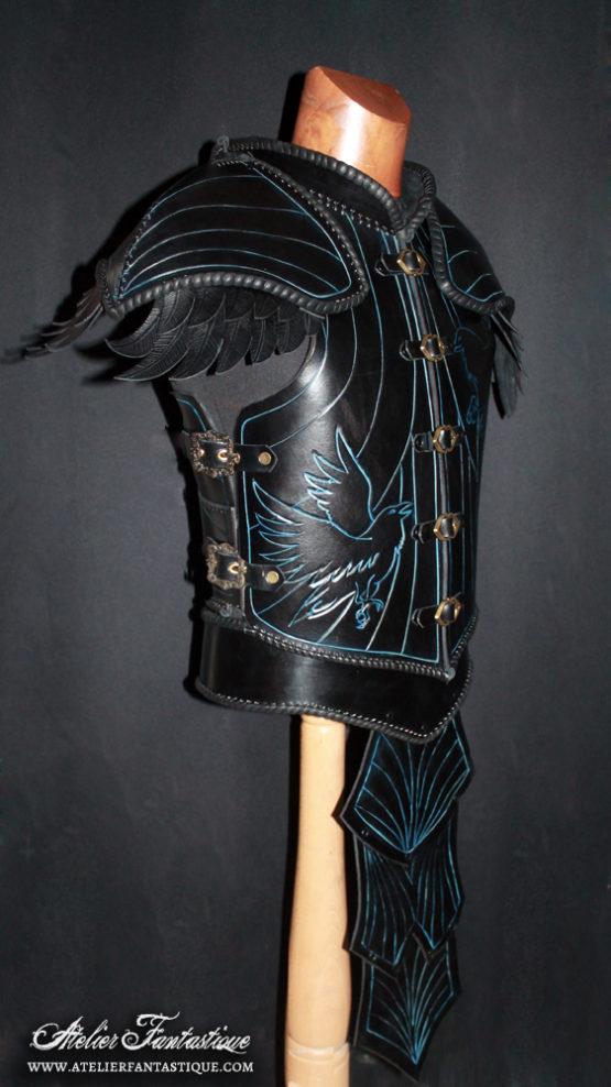 armure-corbeau-cuir